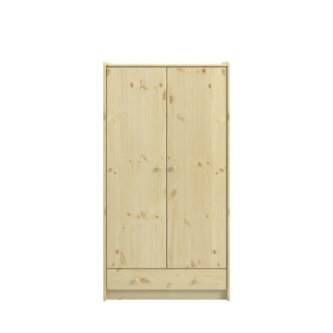 2 Door, 1 Drawer Wardrobe 2901000019001N