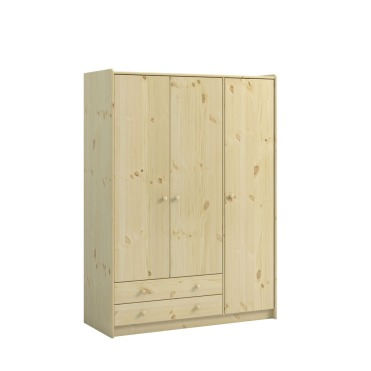3 Door, 2 Drawer Wardrobe 2901090019001N