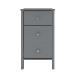3 Drawer Bedside 3740030072000F