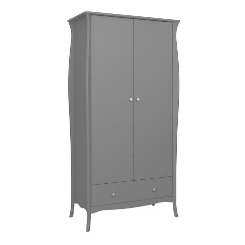 2 Door, 1 Drawer Wardrobe 3761040072000F