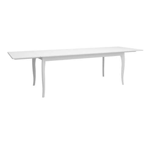 Extending Dining Table w. 2 Leafs