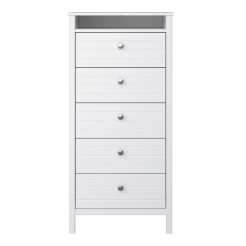 5 Drawer Narrow Chest 4000050058000F