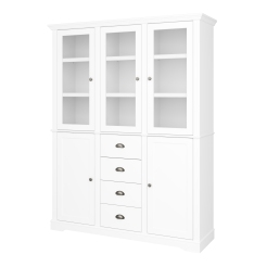5 Door, 4 Drawer Display Cabinet 4031370058000F