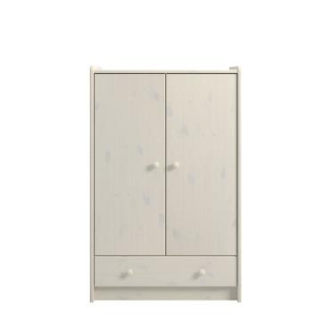 2 Door, 1 Drawer Low Wardrobe 2900990013100N