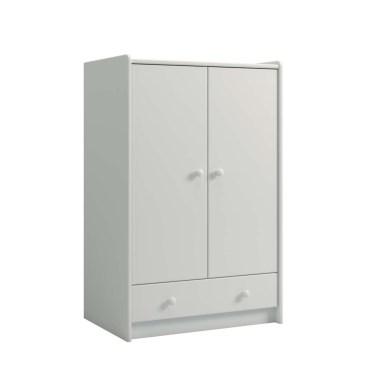 2 Door, 1 Drawer Wardrobe 2900992050001N