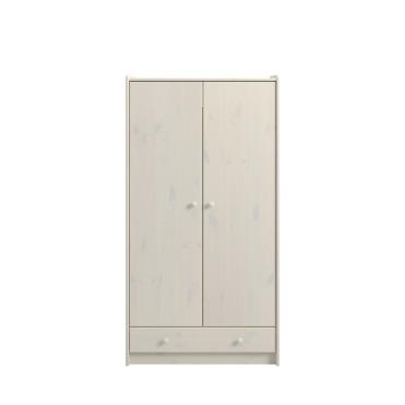 2 Door, 1 Drawer Wardrobe 2901000013001N