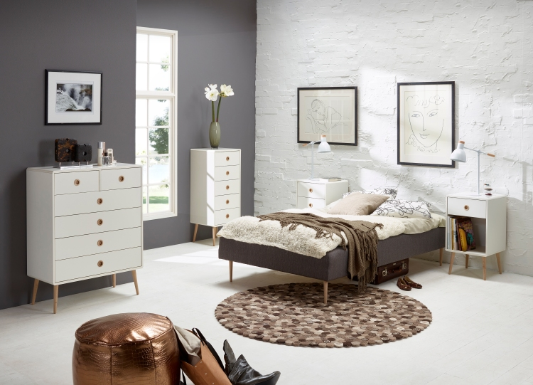Softline Bedroom White