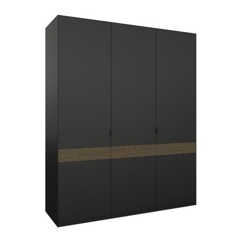 Soma Wardrobe 3 Doors W: 1764mm D:600mm H:2192mm